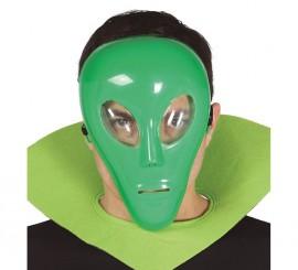Careta de Alien verde