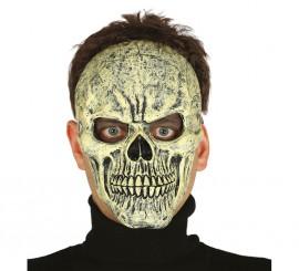 Masque de Squelette Jaune