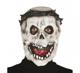 Masque de Squelette avec Couronne d'Épine
