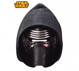 Careta de cartón de Kylo Ren Ep 7 de Star Wars