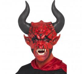 Careta de Lord Demonio con cuernos