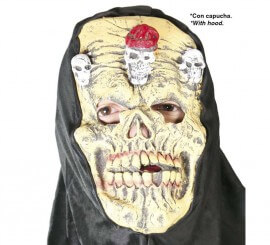 Careta de Muerto con capucha