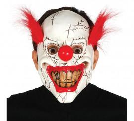 Masque de Clown de terreur avec cheveux