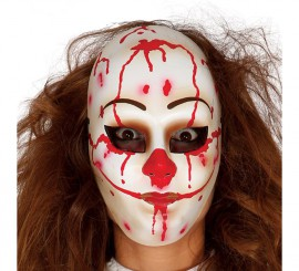 Masque de Clown Assassin Terrifiant pour Halloween