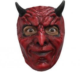 Masque de Satan ou Diable Content en Latex