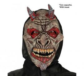 Careta de Satanás con capucha