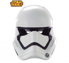 Careta de  de cartón Stormtrooper Ep 7 de Star Wars