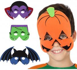 Careta infantil para Halloween en 4 modelos surtidos