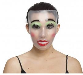 Masque de Femme Transparent