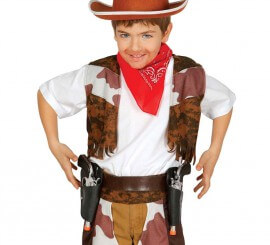 Cartuchera doble con dos pistolas infantil