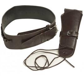 Cartuchera y cinturón de Vaquero de 54 cm