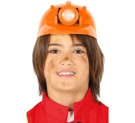 Feltro con badge Vigili del Fuoco Costume Cappelli Pompiere CASCO