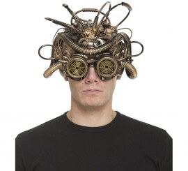 Casco de Steampunk