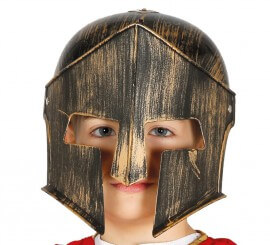 Casco de Espartano infantil
