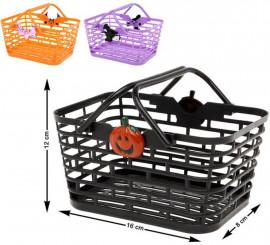 Panier pour Bombons Halloween 12x16 cm Disponible en 3 modèles