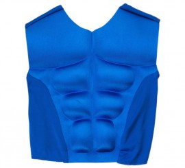Chaleco musculoso Azul para niño