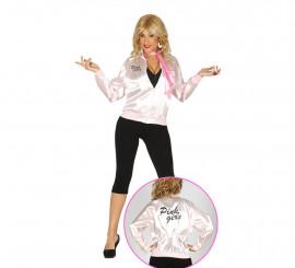Chaqueta de los Años 50 Pink Girls para mujer