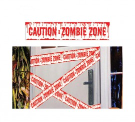 Cinta Caution Zombie 600 X 12 cm