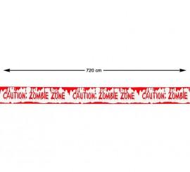 Cinta Caution: Zombie Zone 720 cm