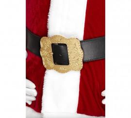 Cinturón de Papá Noel con hebilla decorada