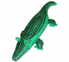 Cocodrilo o caimán hinchable de 140 cm