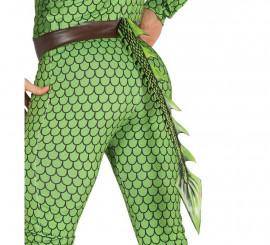 Cola Dragón o Reptil 29 cm para niños