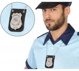 Colgante con Placa de Policía