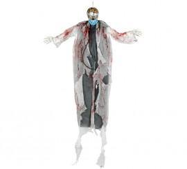 Colgante de Doctor esqueleto con luz de 180 cm
