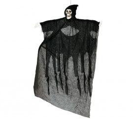 Colgante de Esqueleto negro de 180 cm