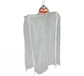 Colgante de Fantasma calabaza con luz de 105 cm