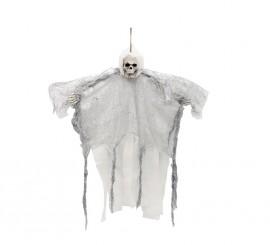 Colgante de la Muerte Alada gris de 54 cm