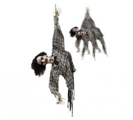Colgante de Zombie con movimiento, luz y sonido 120 cm