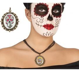 Colgante del Día de los muertos en 2 modelos surtidos