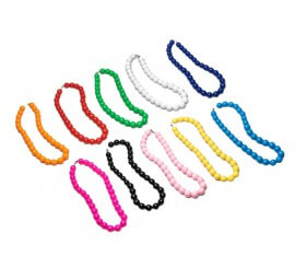 Collar Andaluza grande de 27 cm. colores variados