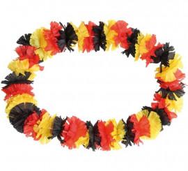 Collar Hawaiano colores de bandera de Alemania