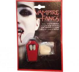 Colmillos de Vampiro con pasta termoplástica