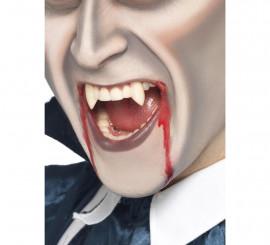 Colmillos de Vampiro funda de diente blancos