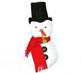 Kit Bonhomme de Neige: Chapeau, yeux, pipe et écharpe