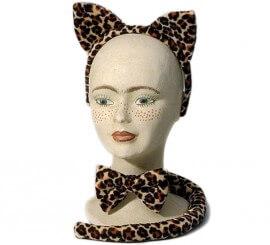 Complemento Leopardo de 3 piezas