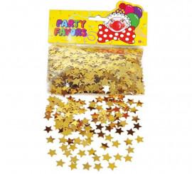 Confeti de Estrellas doradas 57 gr