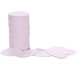 Confeti Redondo Blanco de 5 cm de diámetro 100 g