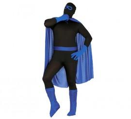 Conjunto de Súper Héroe de color azul