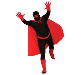 Conjunto de Súper Héroe de color rojo