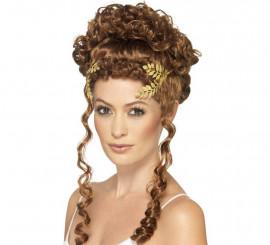 Corona de laurel Romana Dorada