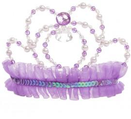 Corona de Princesa Lila para niña