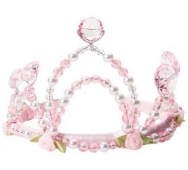 Corona de Princesa Rosa para niña