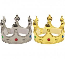 Corona de Rey color Oro o Plata Infantil