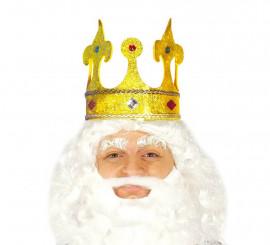 corona de rey o reina infantil