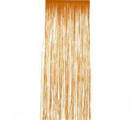 Cortina Brillante Naranja 91x244 cm