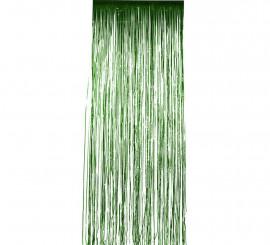 Cortina Brillante Verde metálico 91x244 cm